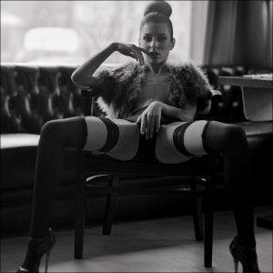 Black & white Stockings