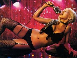 Christina Aguilera singer sexy lingerie