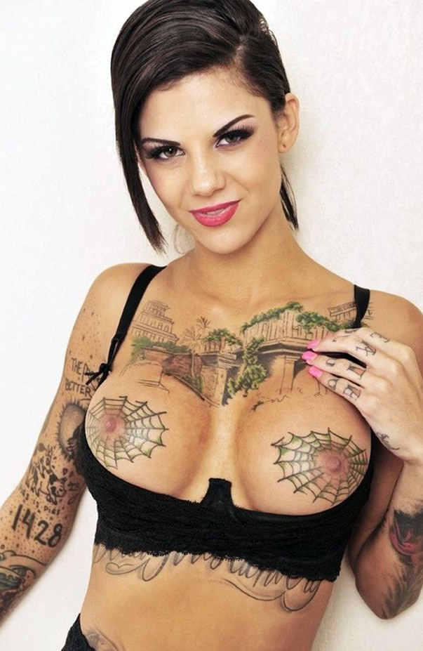 Boobs tattoo