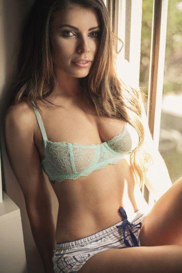 Corin Clark in sexy lingerie