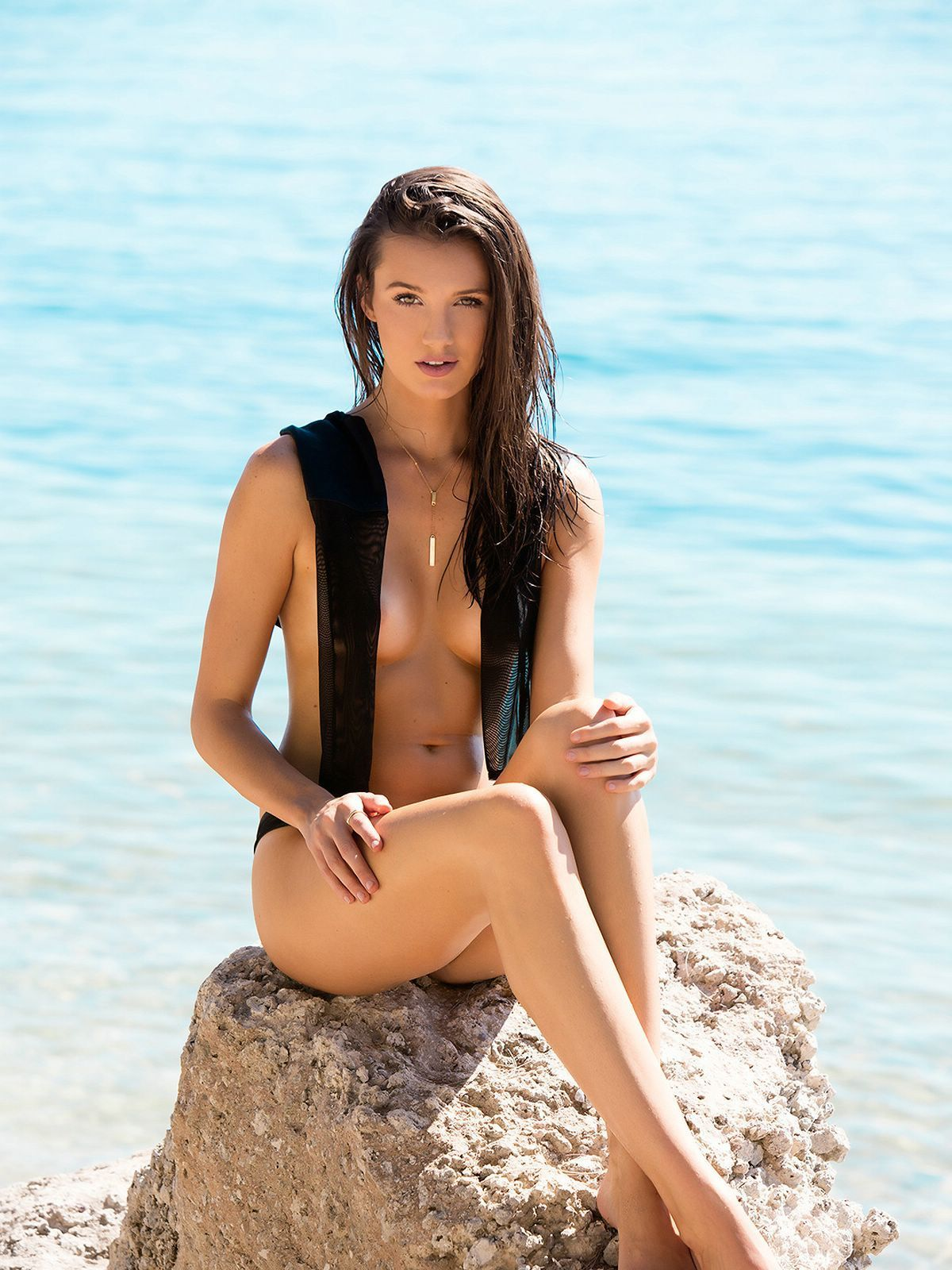 Hailey Outland beach
