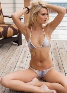 Sexy bikini hot blonde