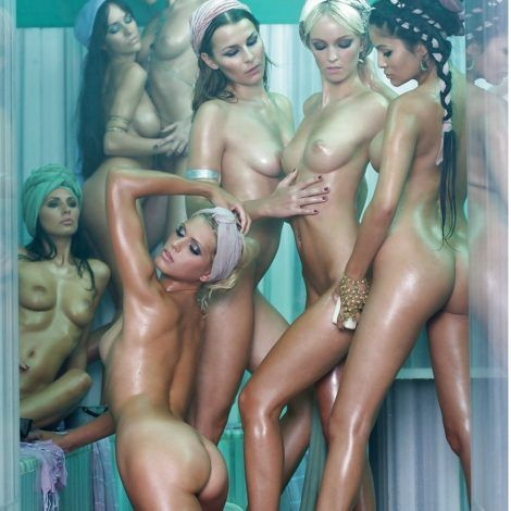 Harem fantasy. The Paradise sexy