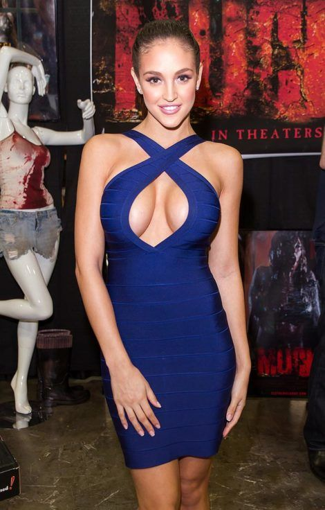 Jaclyn Swedberg blue dress
