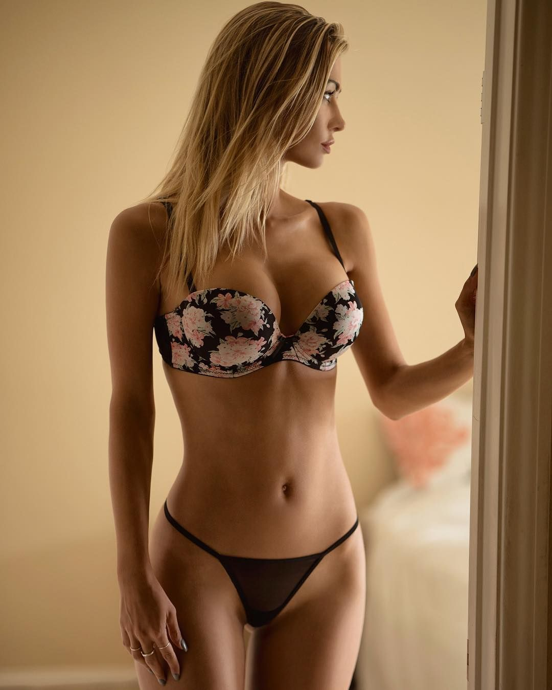 Sexy panties, big boobs, beauty at lingerie