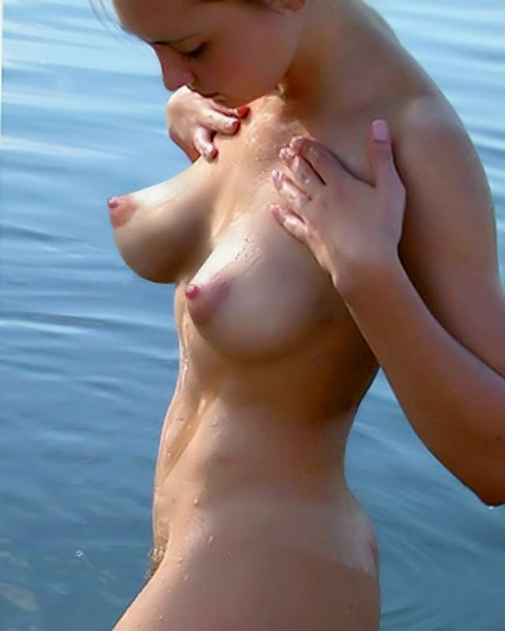 Top boobs ever, perfect nipples, top one nude at beach