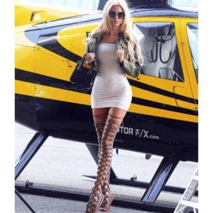 Travels in Style sexy blondie