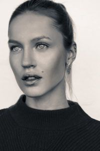 Perfect face sexy woman
