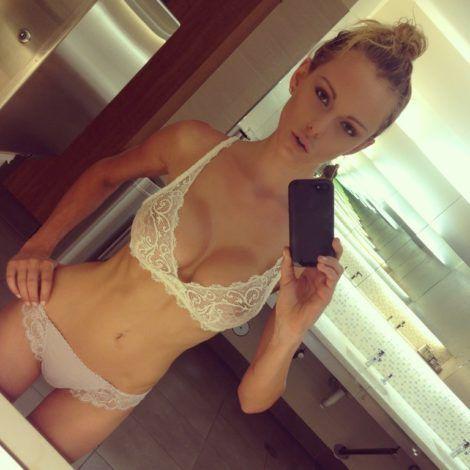Lingerie selfie, big boobs teen