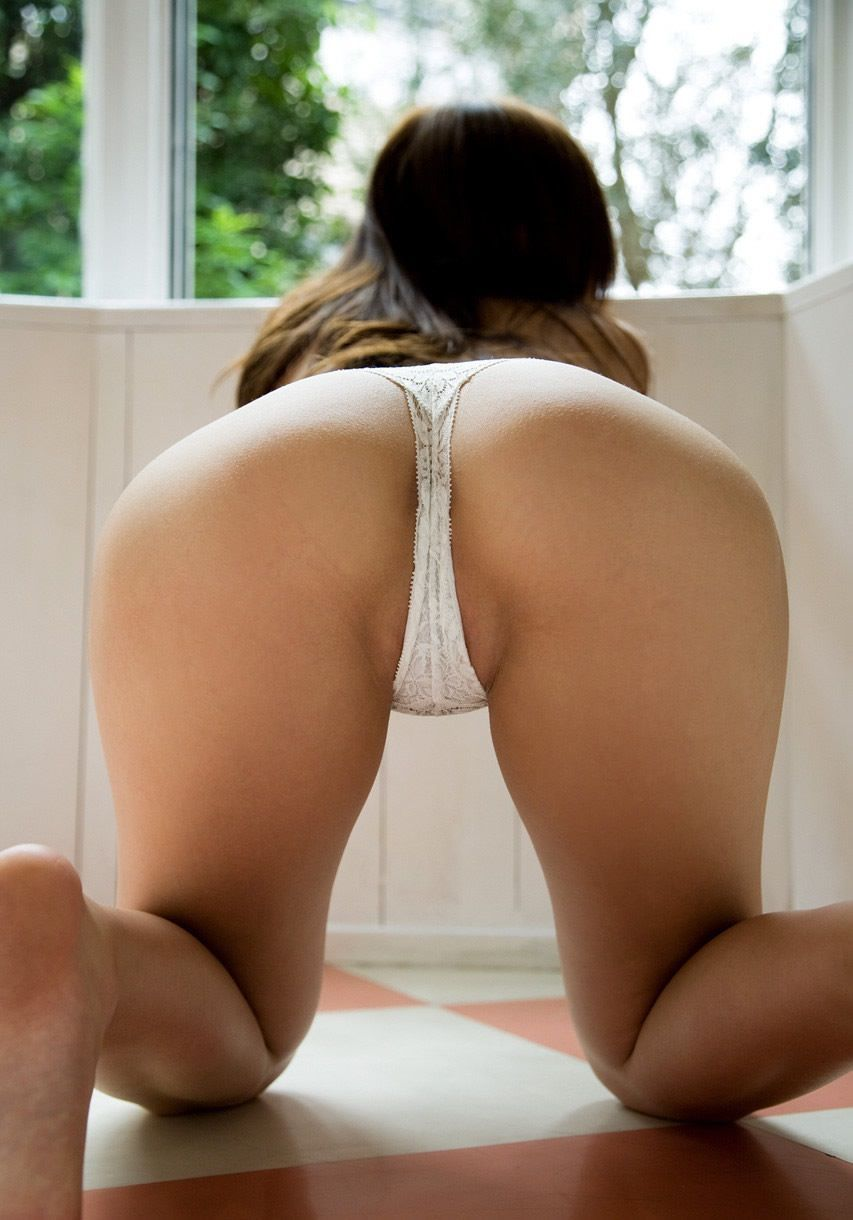 Perfect white ass