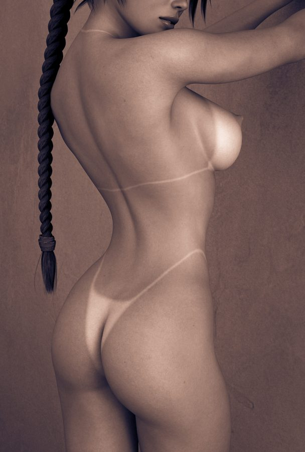 perfect nude ass