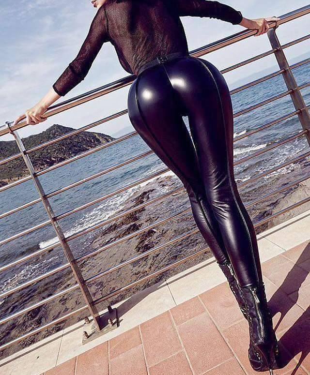 leggings sexy ass latex