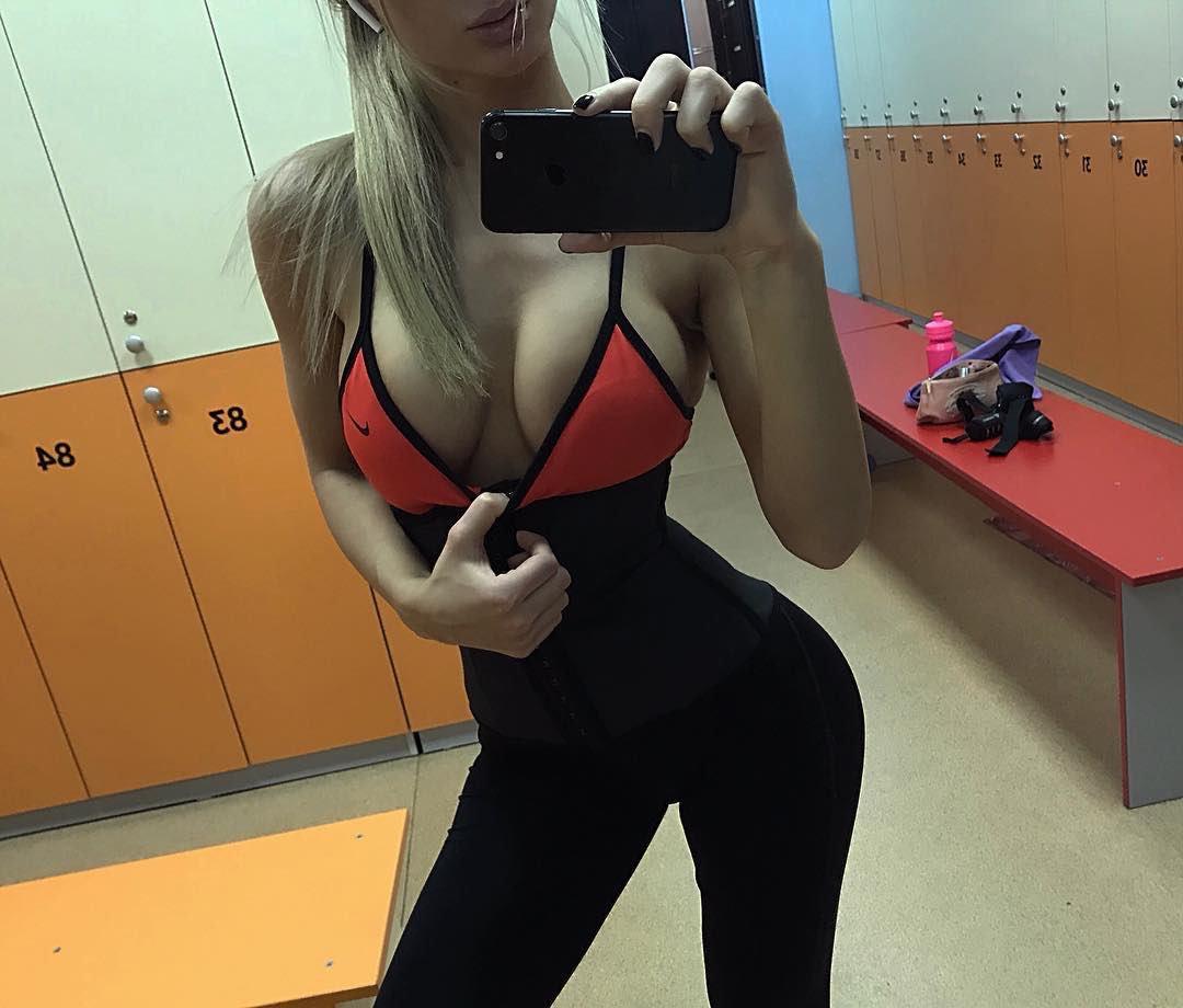 Slutty Tori leggings fitness