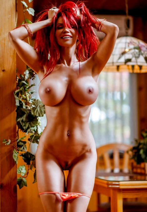 redhair nude