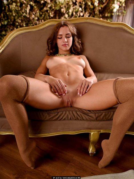 open legs pussy