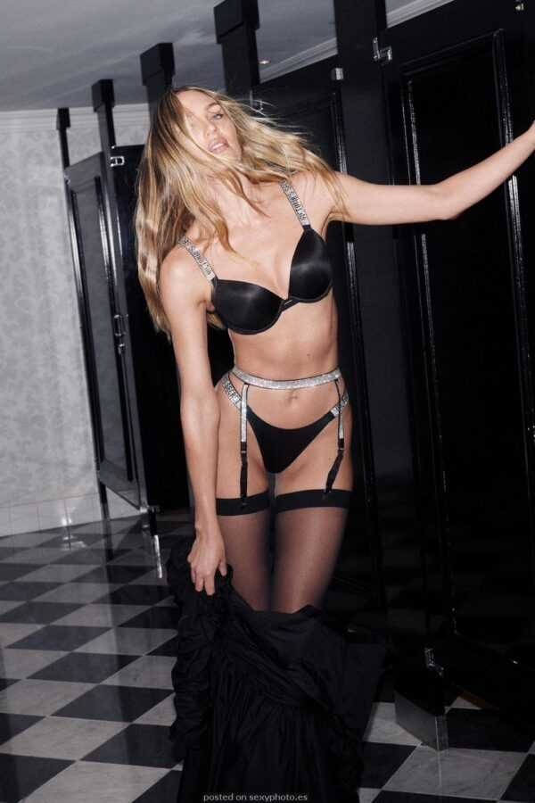 CANDICE SWANEPOEL bathroom lingerie