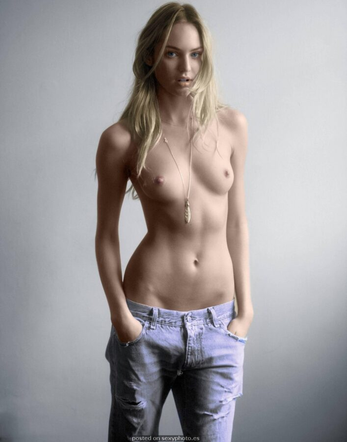 CANDICE SWANEPOEL nude tits topless