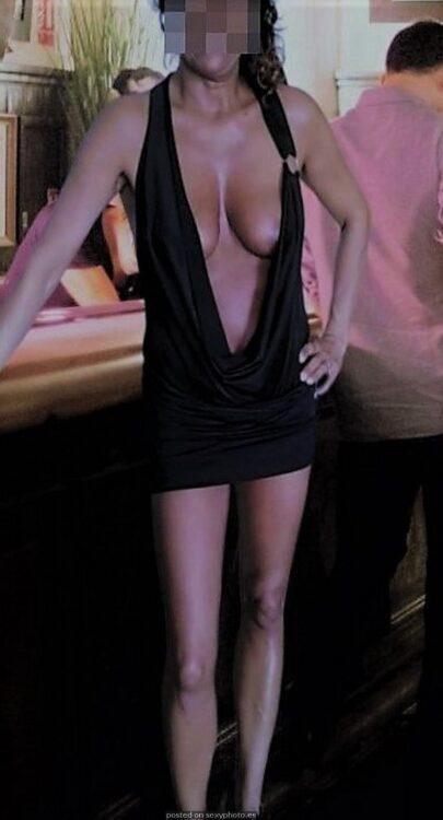 hot sexy dress amateur bar finito